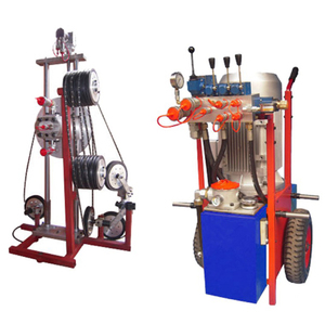 wire saw machine for reinforced concrete cutting